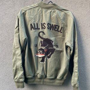 LUCKY Brand Stadium Bomber Jacket
